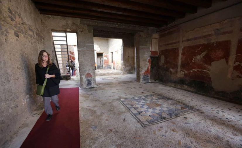 Seis áreas de la ciudad de Pompeya ya pueden ser visitadas por los turistas. (AP)