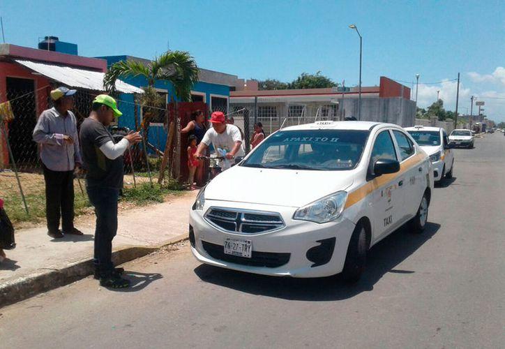 El taxista llegó a un arreglo con los familiares de la la mujer atropellada. (Redacción/SIPSE)