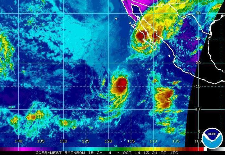 Se espera que Octave impacte en Cabo San Lucas, que pertenece a Baja California Sur. (ssd.noaa.gov)