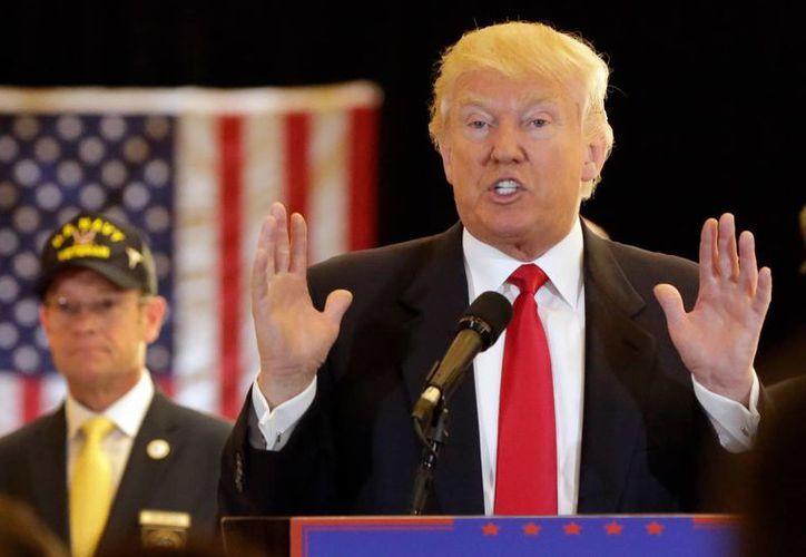 El diario USA Today indica que Donald Trump es famoso por sus pleitos legales, que van desde negocios hasta su Trump University. (AP)