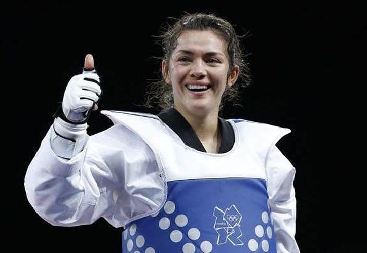 María cayó por marcador de 11-8 ante la griega Marina Dimitropoulou en el Mundial de Puebla.(mediotiempo.com)