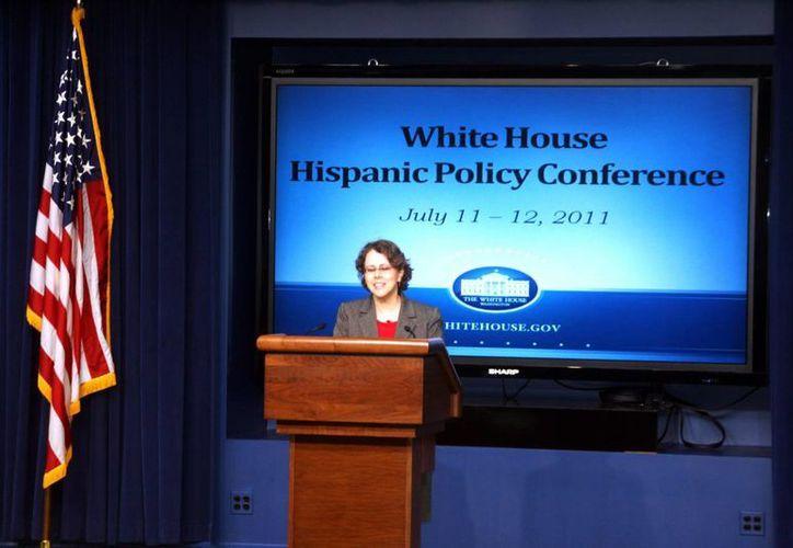 Cecilia Muñoz, de la Casa Blanca, dijo que la migración de niños se ha visto por años. (EFE)