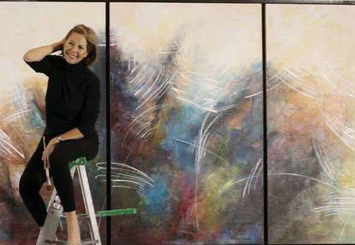 Especialistas en arte María Carvajal. (Faride Cetina/SIPSE)