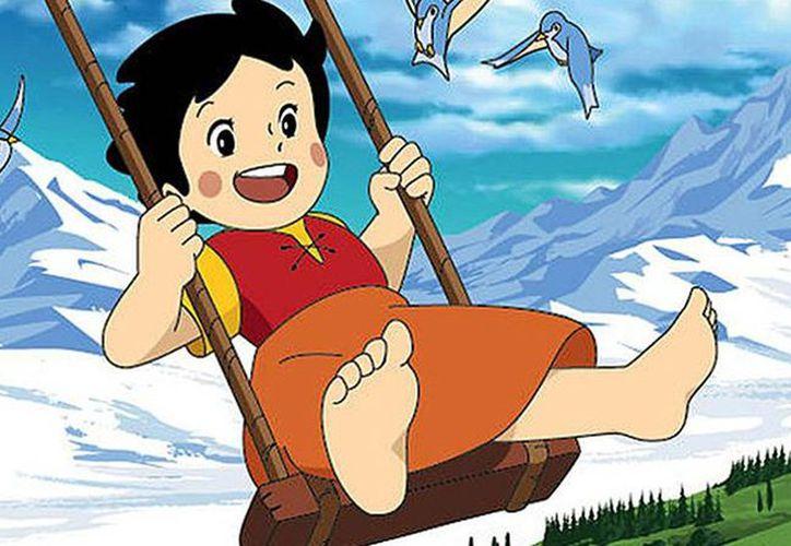 """Isao trabajó con Hayao Miyazak en la serie de televisión  """"Heidi"""" (1974). Foto: Internet"""