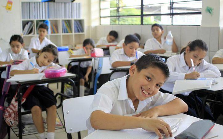 A algunos estudiantes de Yucatán se les borrará la sonrisa del rostro cuando sepan que tendrán una semana menos de vacaciones. (Archivo)