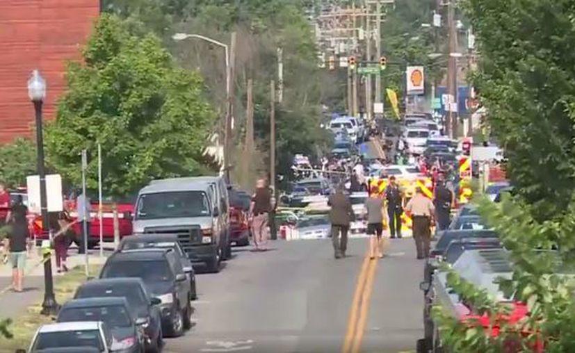 El sospechoso del tiroteo ha sido detenido, pero aún se desconocen los detalles sobre su identidad. (RT)