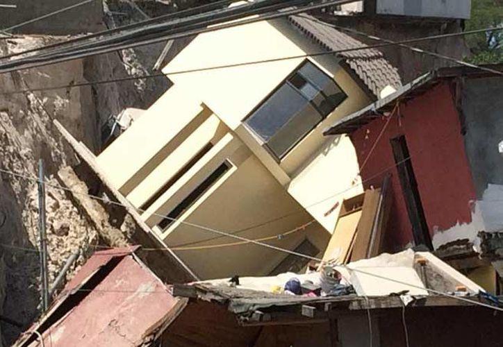 No hay reporte de personas fallecidas, pero sí cuantiosos daños materiales. (Foto: Protección Civil Tijuana)