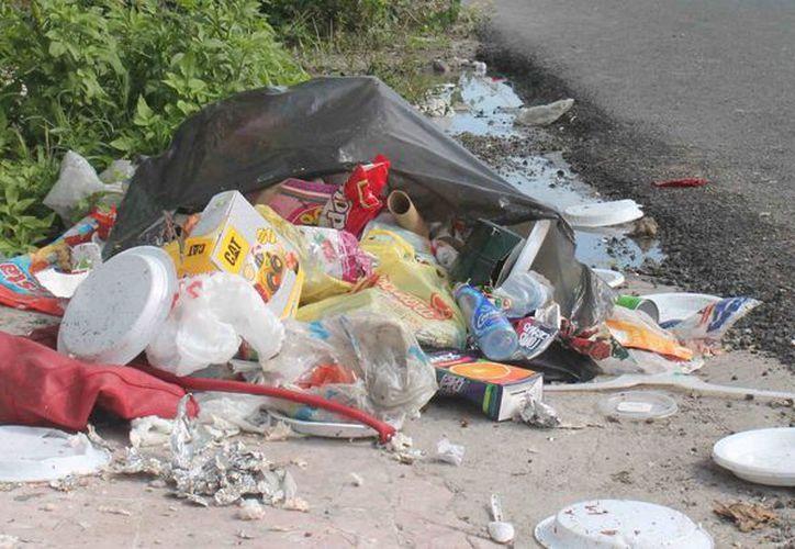 Analizan la posibilidad de contratar una tercera empresa recolectora de basura. (Hugo Zuñiga/SIPSE)