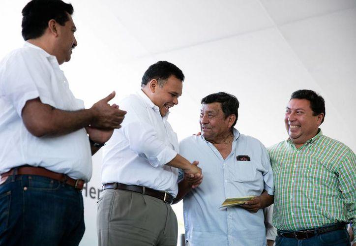 El gobernador Rolando Zapata estará este sábado en Chocholá y en Kopomá. (SIPSE)