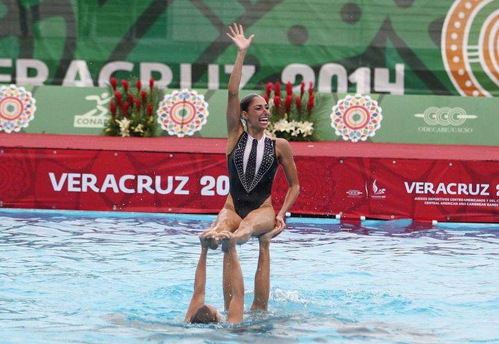 El equipo mexicano de nado sincronizado ha tenido unos Juegos Centroamericanos de ensueño al ganar las siete competiciones, tanto individuales como grupales.(conade.gob.mx)