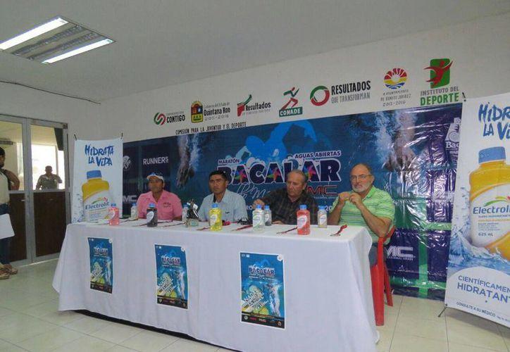 Los organizadores presentaron el evento durante una conferencia de prensa. (Raúl Caballero/SIPSE)