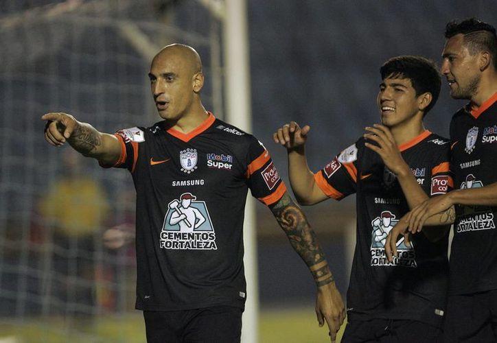 Ariel Nahuelpan selló la cuenta en el minuto 90. (Foto: Jam Media)