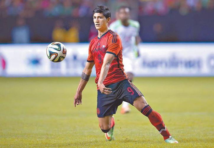 El equipo griego Olympiacos, reveló la contratación de Alan, quien en el Draft fue negociado por Tigres para ser futbolista de las Chivas en el Apertura 2015. (elhorizonte.mx)