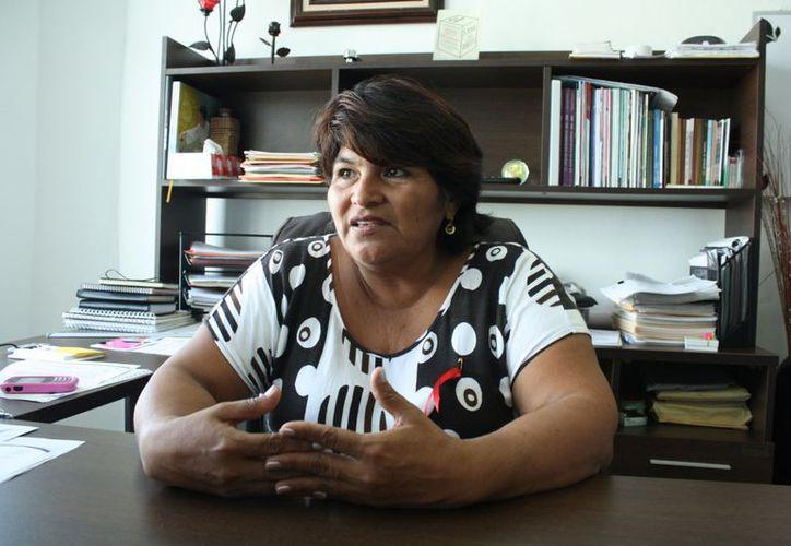 La representante SEQ, Ángela Sánchez Gutiérrez, dijo que en las zonas 020, 048 y 053 se suspendieron labores ayer. (Alida Martínez/SIPSE)