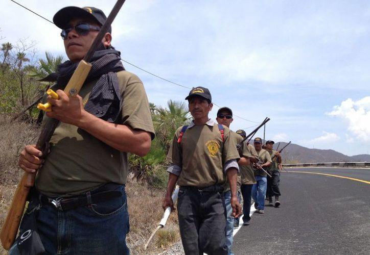 El movimiento de autodefensas surgió en febrero pasado. (Archivo/Notimex)