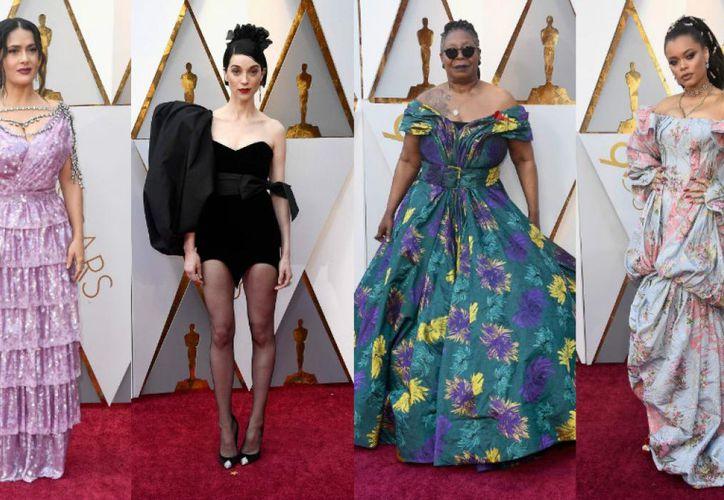 Varias actrices fallaron al escoger su outfit para la noche de gala. (Trome)