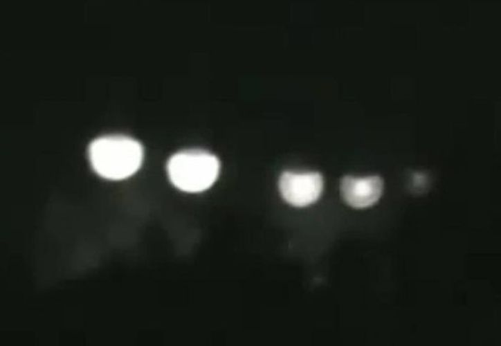 """Miguel González asegura que el ovni tenía """"ventanas"""" algunas de las cuales tenían luz. (imagen ilustrativa tomada de losovnisddt.blogspot.com)"""