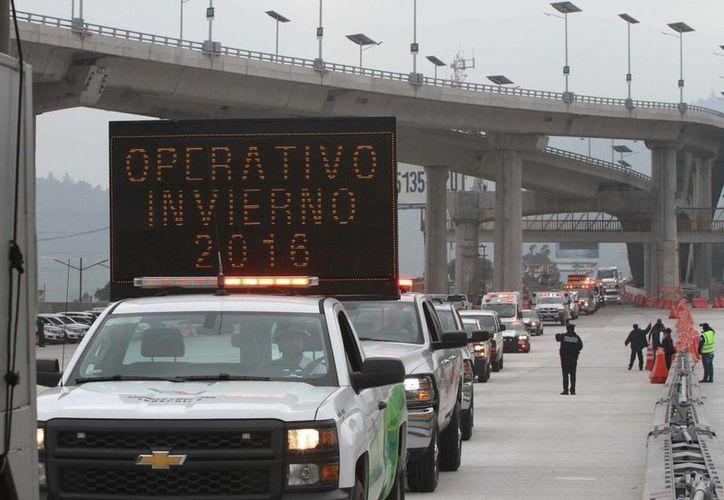 Las autoridades indicaron que el operativo vacacional de invierno de 2015 logró reducir los índices de siniestralidad. (Notimex)
