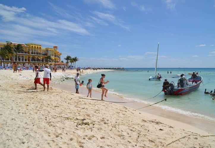 Indican que las afectaciones en la playa se presentan cada año. (Yenny Gaona/SIPSE)
