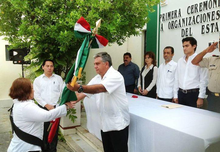 La ceremonia fue encabezada por el subsecretario de Desarrollo Social, Daniel Granja Peniche. (Foto: cortesía)