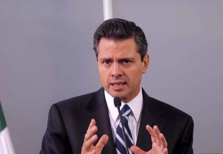 El presidente Peña Nieto pernoctará en Cancún a fin de viajar el jueves a Mérida, Yucatán. (Foto de Contexto/Internet)
