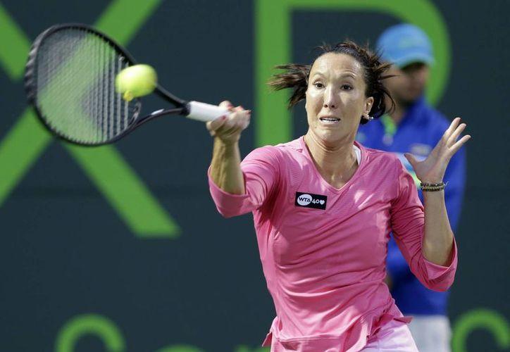 La serbia Jankovic venció a la italiana Roberta Vinci. (Agencias)