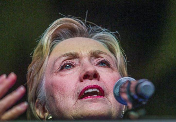 A finales de este mes se espera que Hillary Clinton sea oficialmente abanderada como candidata demócrata a la Presidencia de los Estados Unidos. (EFE)