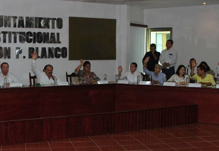 Regidores del PAN de Othón P. Blanco solicitaron licencia ante las próximas elecciones. (Ángel Castilla/SIPSE)