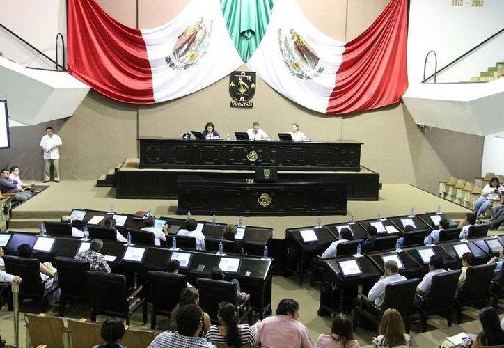 Los diputados de Yucatán celebraron este jueves una tranquila sesión plenaria. (SIPSE)
