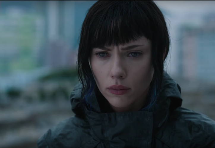 La elección de Scarlett Johansson para el papel de la Mayor, fue lo que principalmente no fue bien acogida por los seguidores de la serie. (Foto: Youtube)