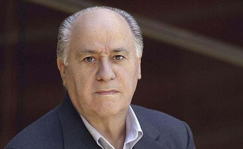 Amancio Ortega es el hombre más rico de Europa con una fortuna estimada en 73 mil 89 millones de euros. (Foto: Contexto/Internet)