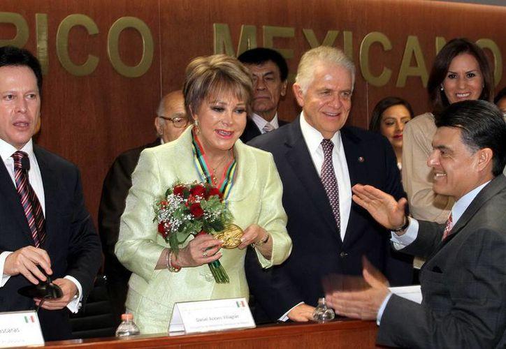 Lolita Ayala terminó su ciclo en Televisa el pasado martes, después de 30 años de trabajo. (Notimex/archivo).