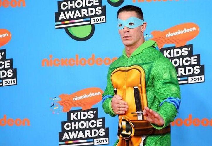 Cena ha trabajado afuera del ring en los últimos años. (Nickelodeon)