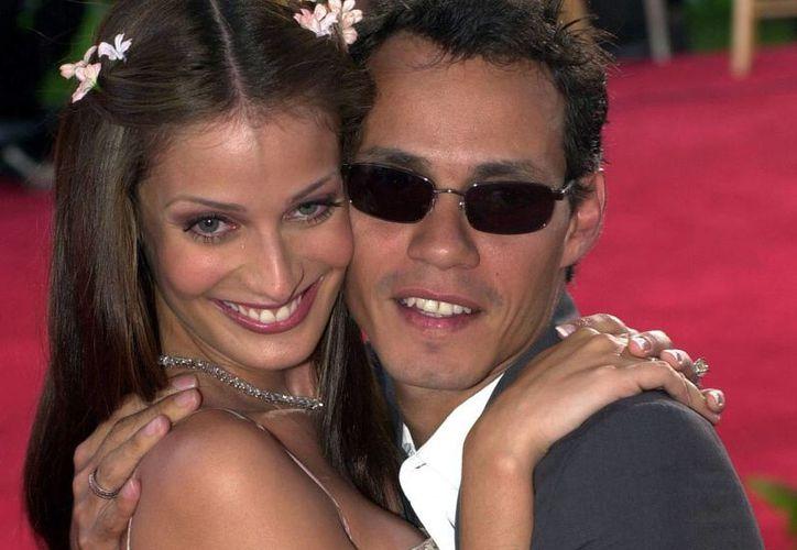 Marc Anthony y Dayana Torres se casaron en el 2000 y se divorciaron cuatro años después. (Agencias)