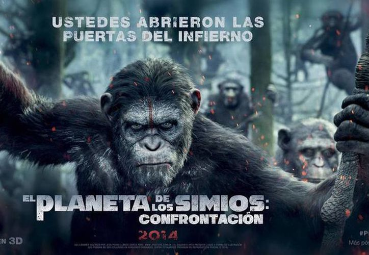 El Planeta de los Simios: Confrontación... esperada continuación de la franquicia. (Facebook/Planet of the Apes: Confrontation)