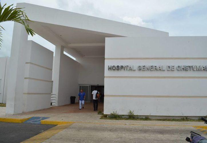 el Hospital General cuenta con servicios de consulta general externa,estudios de laboratorio, rayos X, patología, entre otros. (Redacción/SIPSE)