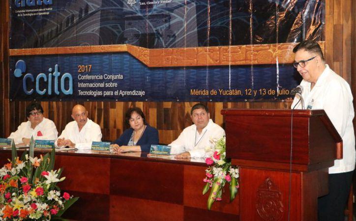 En la Conferencia Conjunta Internacional sobre Tecnologías para el Aprendizaje (Ccita) se habló del nuevo sistema de enseñanza en línea (Foto de Milenio Novedades)