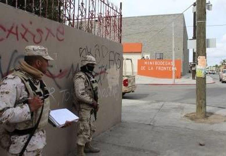 La Secretaría de la Defensa Nacional (Sedena) informó sobre los resultados de operativos llevados a cabo en la región.(Fotos: Notiemex)
