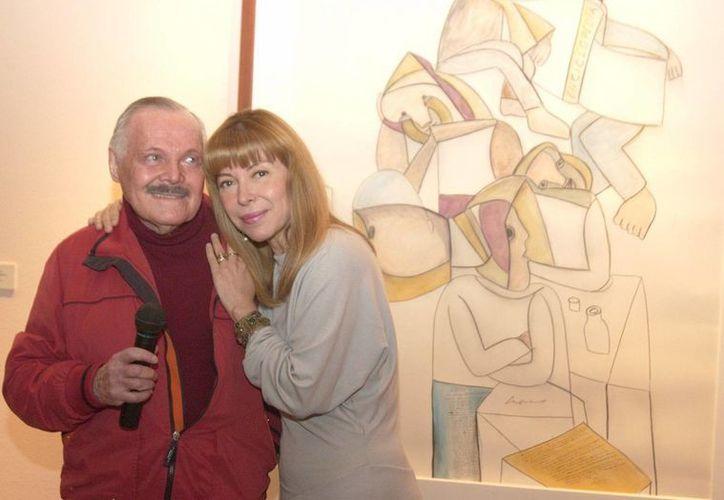 Las hijas de José Luis Cuevas acusan a la esposa del artista de haberlo sacado del hospital, aun cuando su padre está delicado de salud,. (Archivo Notimex)