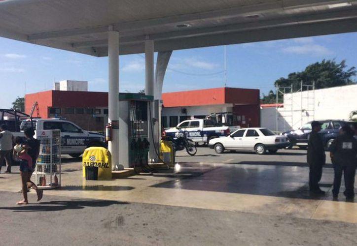 La estación de servicio se ubica en la Región 532. (Eric Galindo/SIPSE)