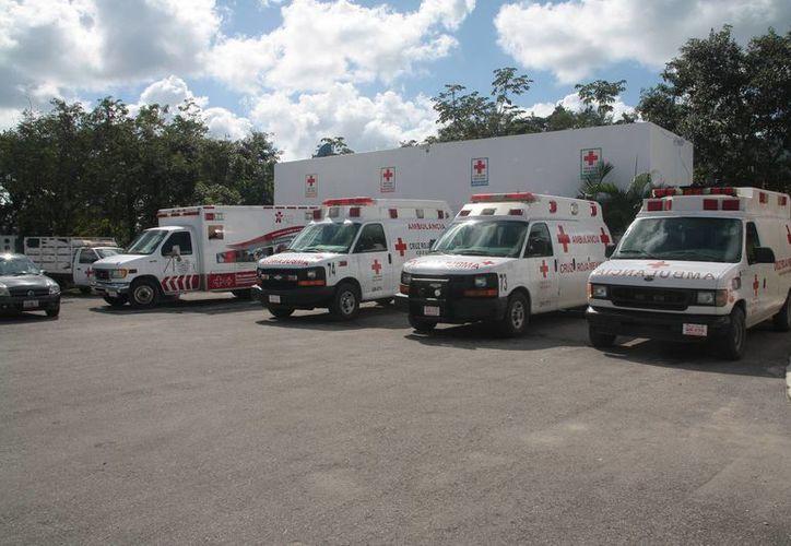 La Cruz Roja Mexicana busca renovar su parque vehicular. (Julián Miranda/SIPSE)