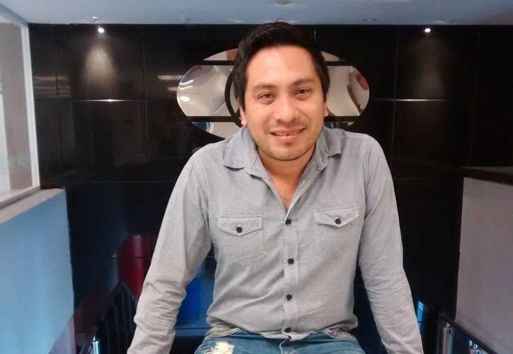 Los yucatecos presentarán la obra 'El Cuco de los Sueños'. En la foto, Miguel Ángel Vázquez, escritor y director de la obra.(Milenio Novedades)