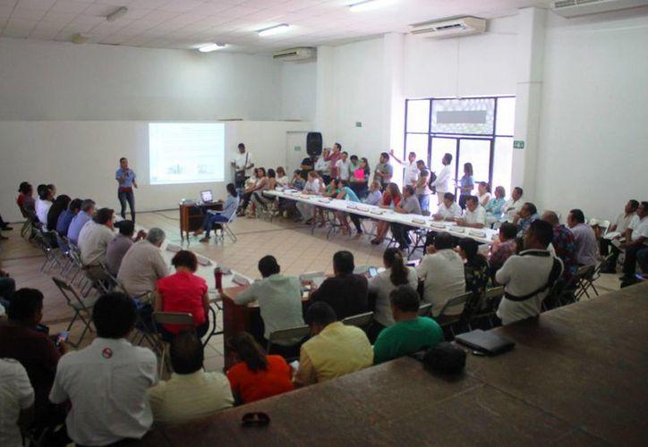 El martes se realizó la Sexta Sesión de proceso de actualización del POEL del municipio de Solidaridad. (Daniel Pacheco/SIPSE)