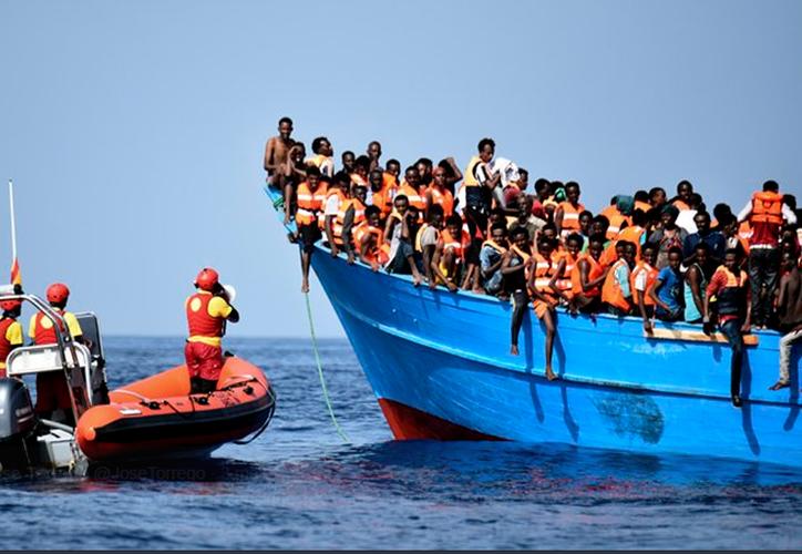 Al menos 11 inmigrantes han sido encontrados muertos en el Mediterráneo. (El referente).