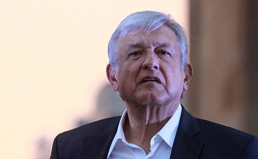 Andrés Manuel López Obrador, comentó que tiene testigos del fraude cometido por el partido revolucionario. (Foto: Proceso).