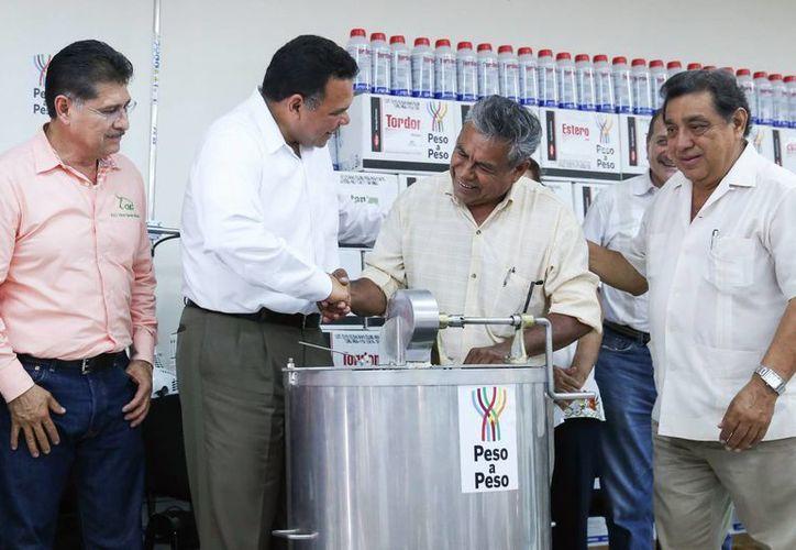 El programa Peso a Peso benefició a 413 productores de diversas agrupaciones de Yucatán. (SIPSE)