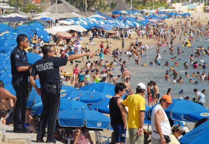 En Acapulco se registró una ocupación del 60.4 por ciento, mientras que en 2011 fue de 54.4 por ciento. (Archivo/Notimex)