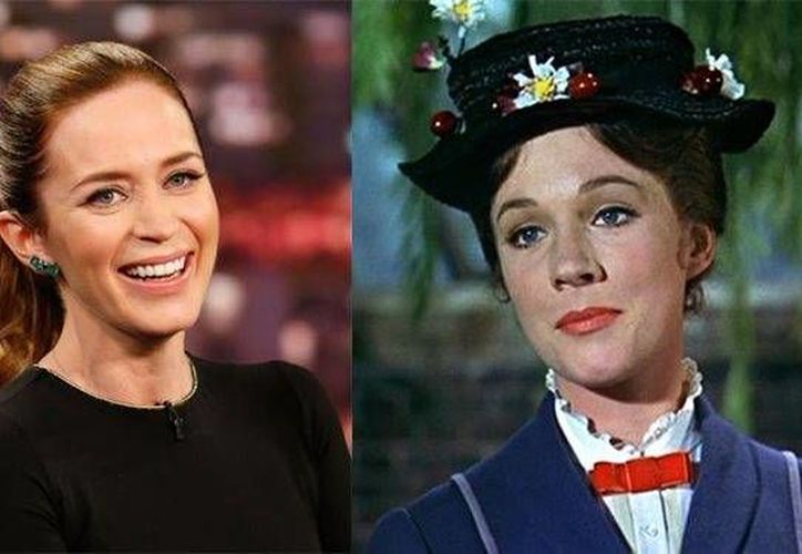 Emily Blunt reemplaza a Julie Andrews en el papel de agasajo. (Foto tomada de radiotimes.com)