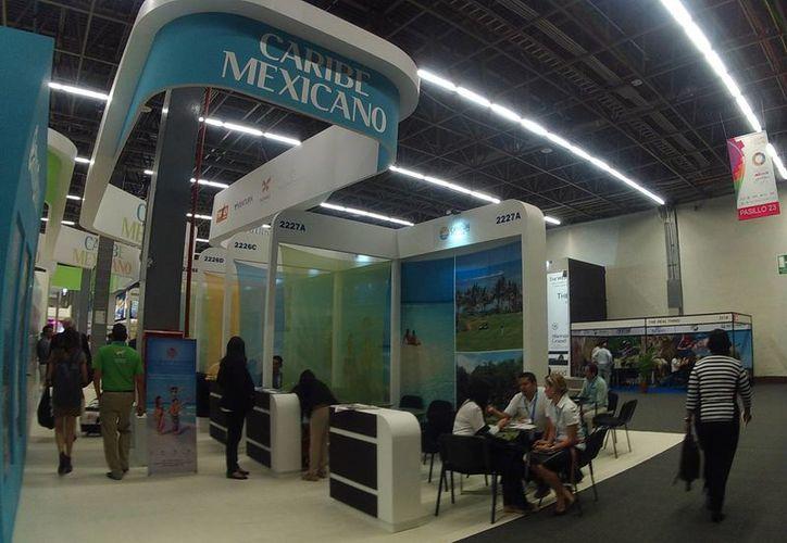 El Caribe mexicano es promocionado en diferentes eventos. (Luis Soto/SIPSE)