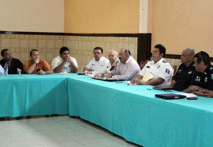 Se realizó una mesa de trabajo en las instalaciones de la CROM. (Luis Soto/SIPSE)